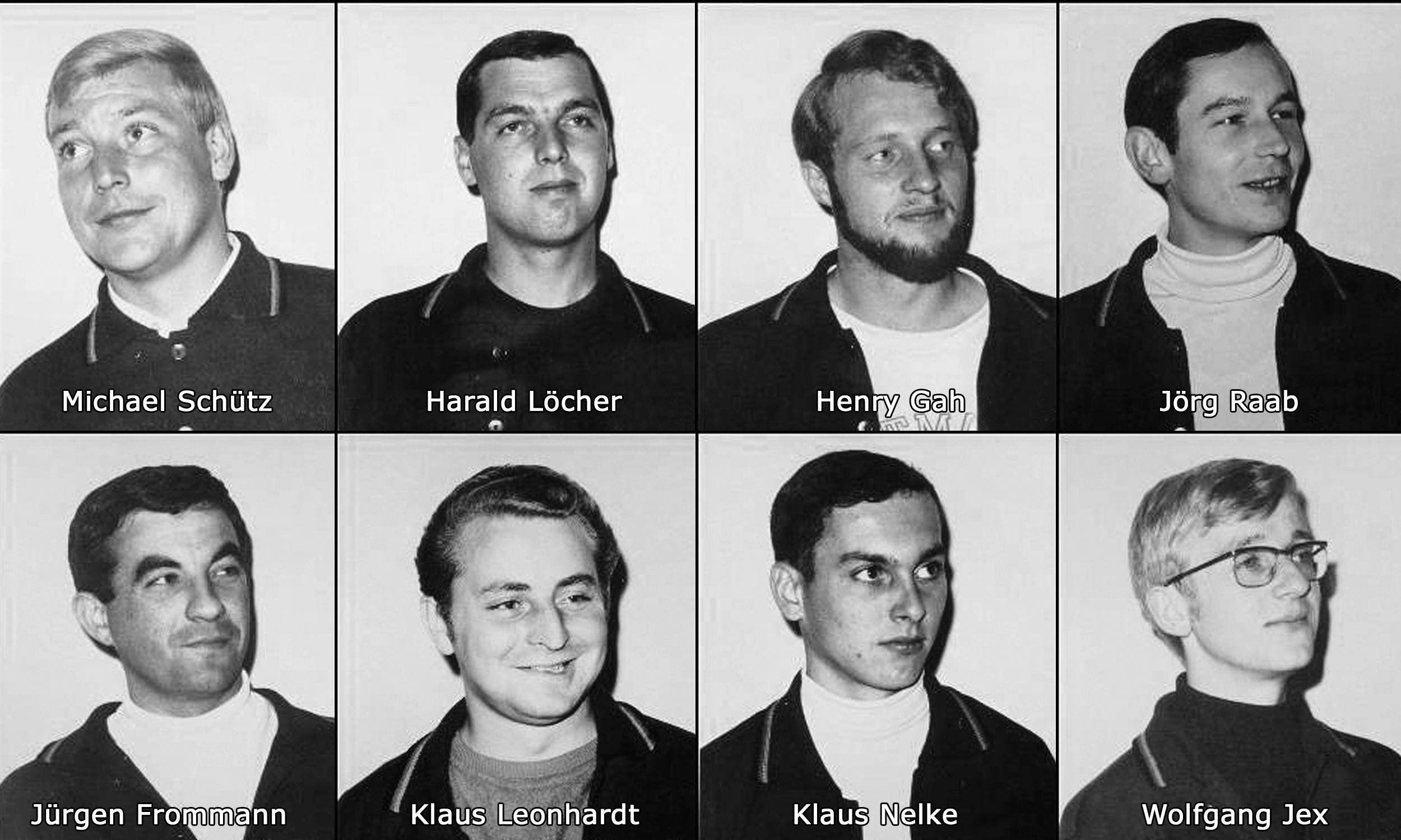 die Deutschen Meister 1968