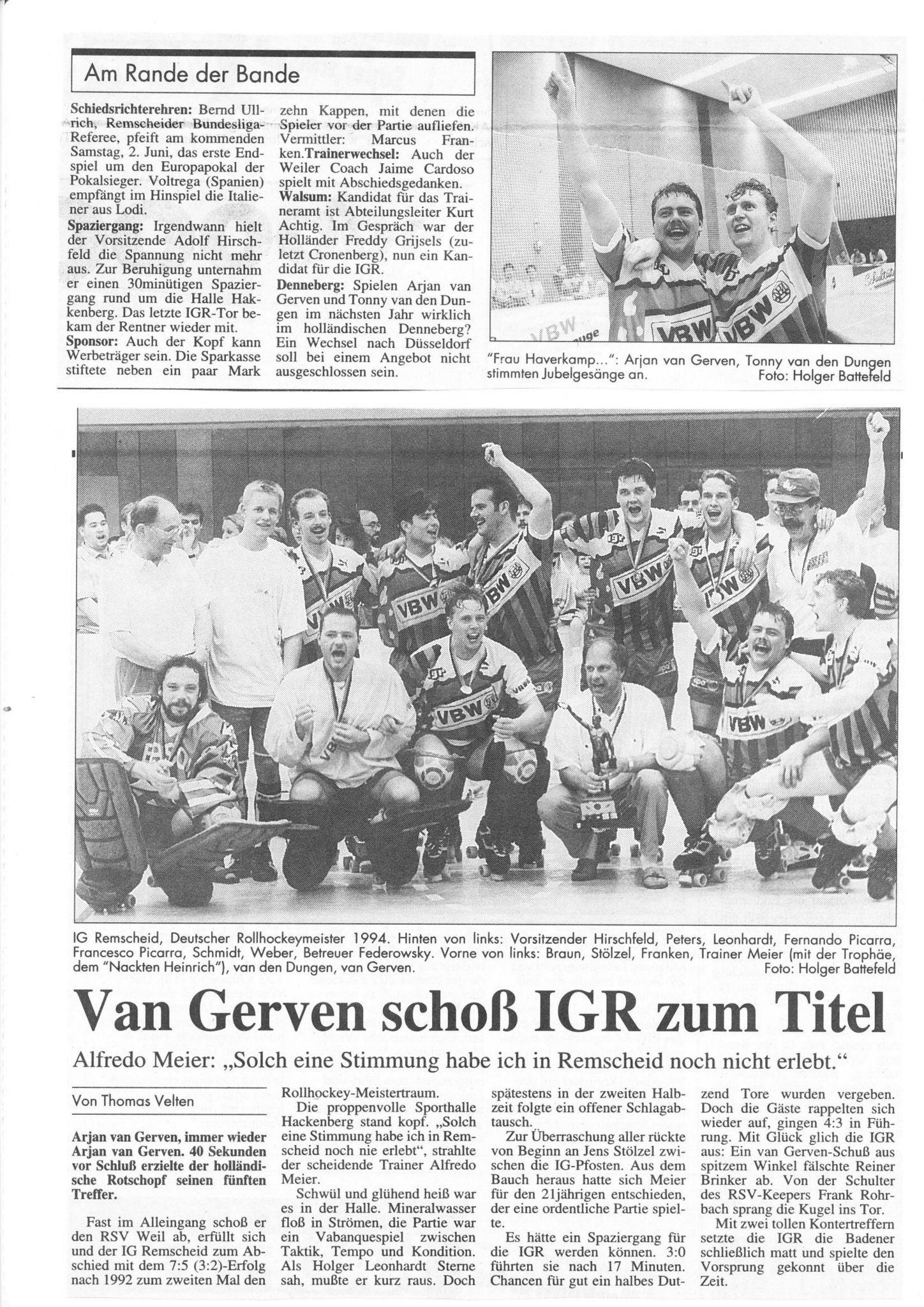 1994 Deutscher Meister