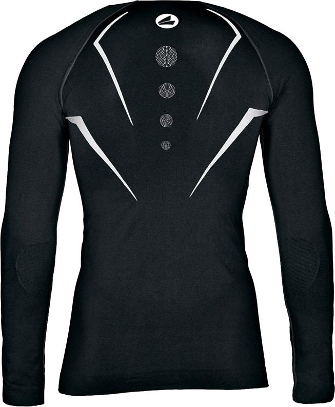 Kompressionsshirt schwarz hinten
