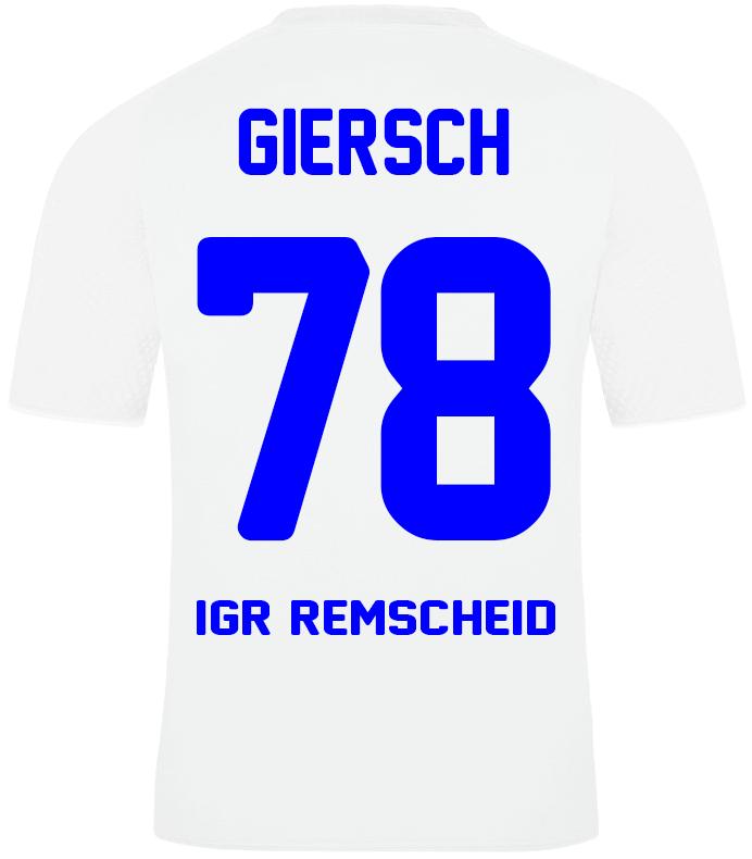 Trikot HOME Sparkasse Giersch 78